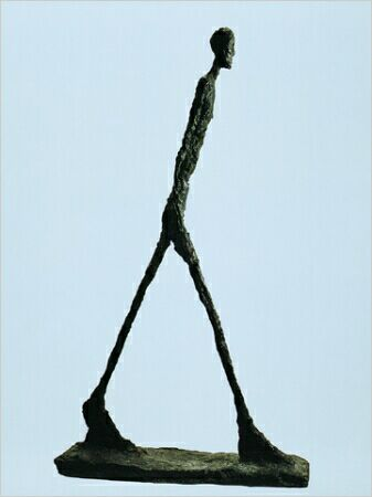 Giacometti's Walking Man