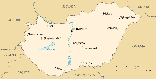 Map Of Hungary - Where is hungary